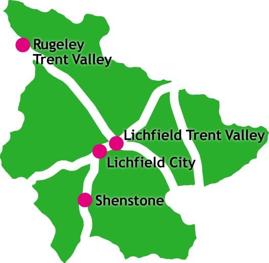 GRAPHIC: Lichfield District railways
