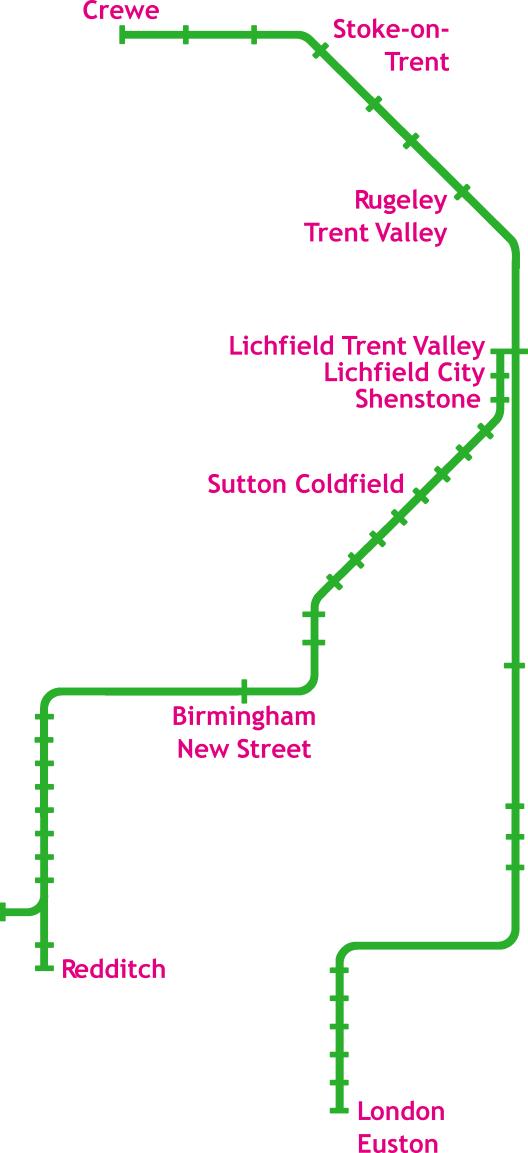 GRAPHIC: Network diagram of services through Lichfield