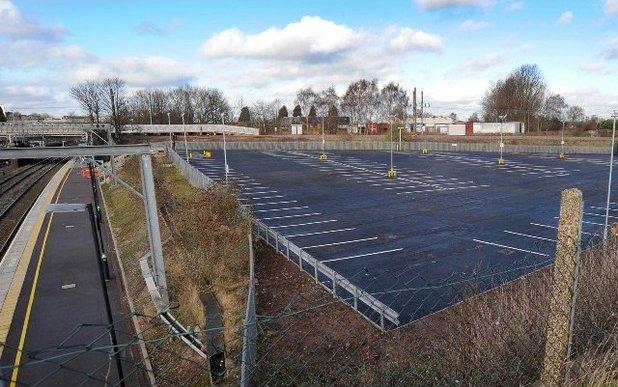PHOTO: Lichfield Trent Valley car park