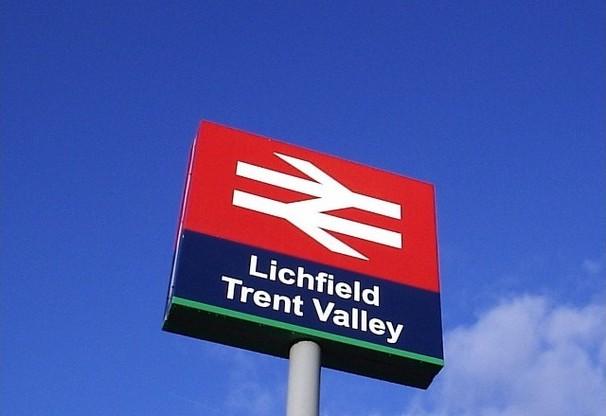 PHOTO: Lichfield Trent Valley sign