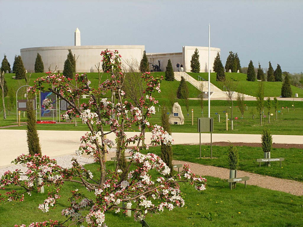 PHOTO: View over the National Memorial Arboretum